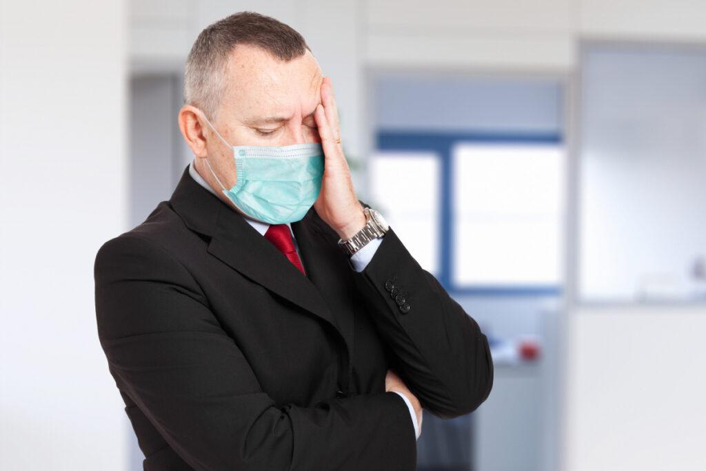 Przedsiębiorca w masce. Regeneracja organizmu podczas pandemii - czyli, jak zmniejszyć stres i lęk