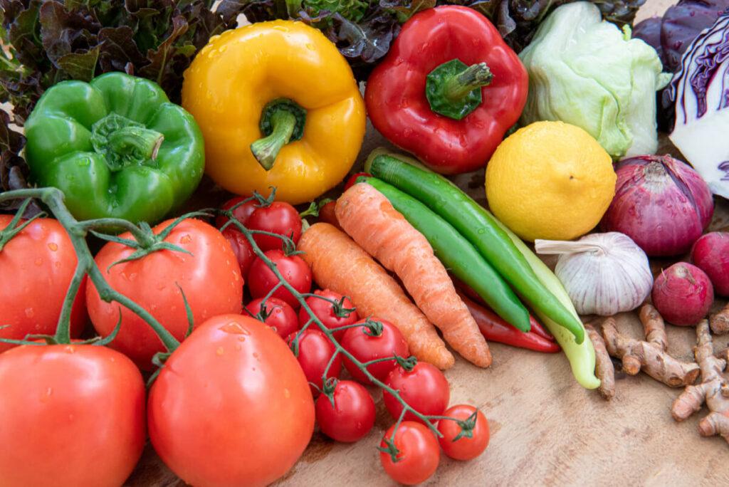 Organiczne warzywa