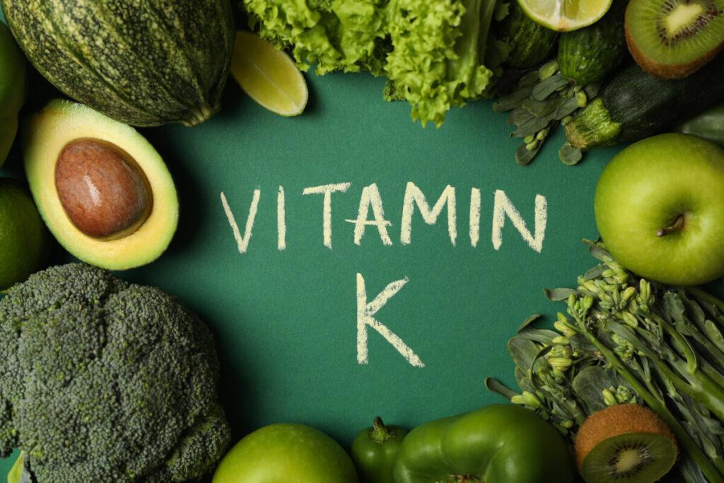 Witaminy rozpuszczalne w tłuszczach - witamina K